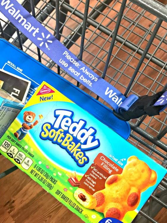 TEDDY SOFT BAKED Filled Snacks