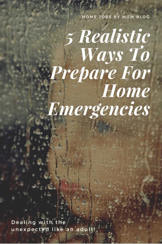 home emergency, home emergency preparedness, home emergency plan