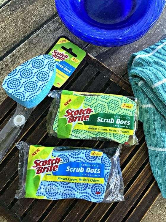 sponges in package