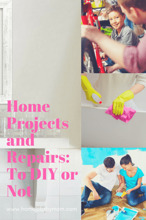 Home Projects and Repairs: To DIY or Not