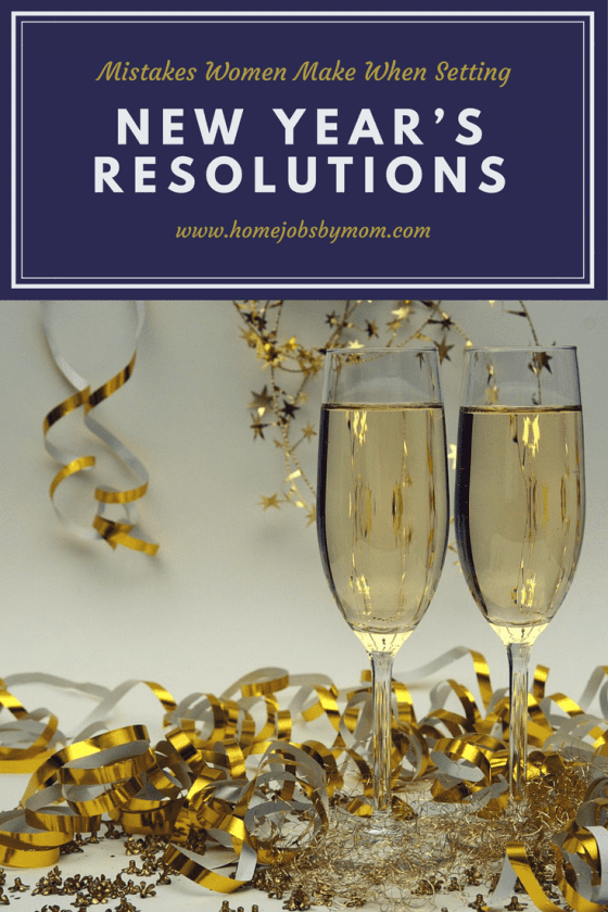 Mistakes Women Make When Setting New Year's Resolutions