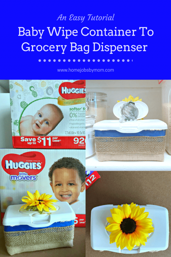 grocery bag dispenser, baby wipe container makeover, grocery bag dispenser diy, grocery bag dispenser tutorial, grocery bag dispensers diy, grocery bag dispenser wipes container