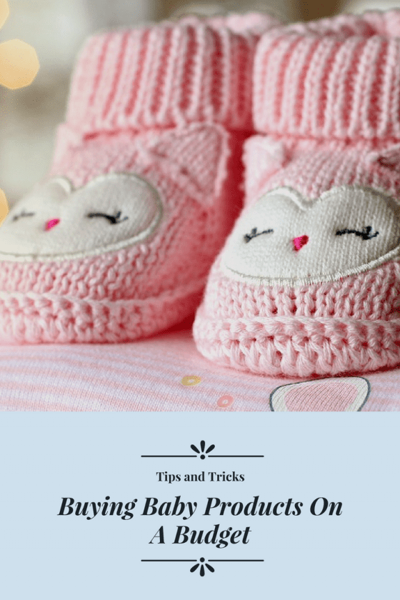 Buying Baby Products On A Budget