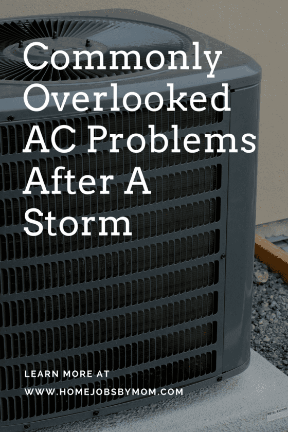 Commonly Overlooked AC Problems After A Storm