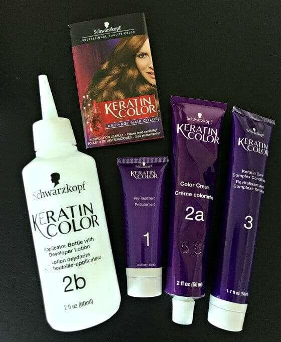 keratin color supplies