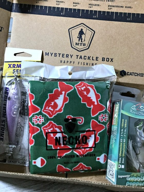 mystery tackle box review, mystery tackle box, subscription box, fishing