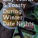 winter, winter date nights, date night ideas, date nights at home, date nights in