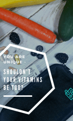 You Are Unique – Shouldn't Your Vitamins Be Too? PLUS A Giveaway! #THBgiveaway #THBhop