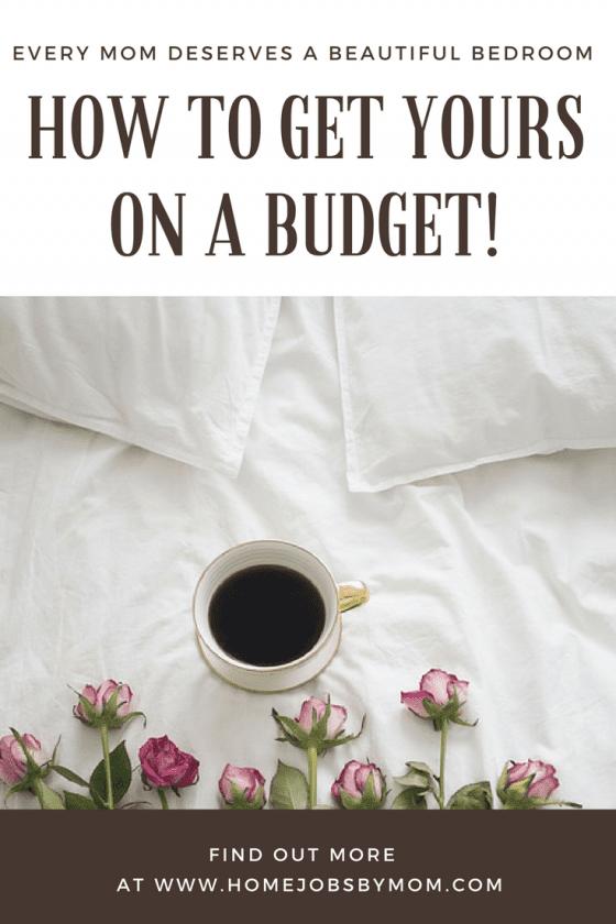 bedroom, budget, bedroom decor, decorating, moms, mom