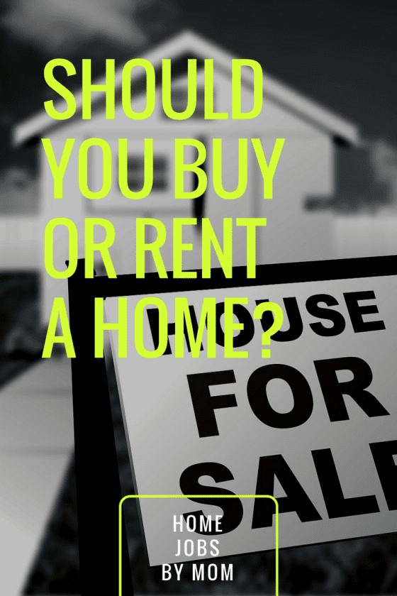 buying, renting, buying a house