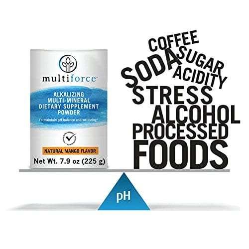 pH balance, body pH, multiforce, Alkaline Powder