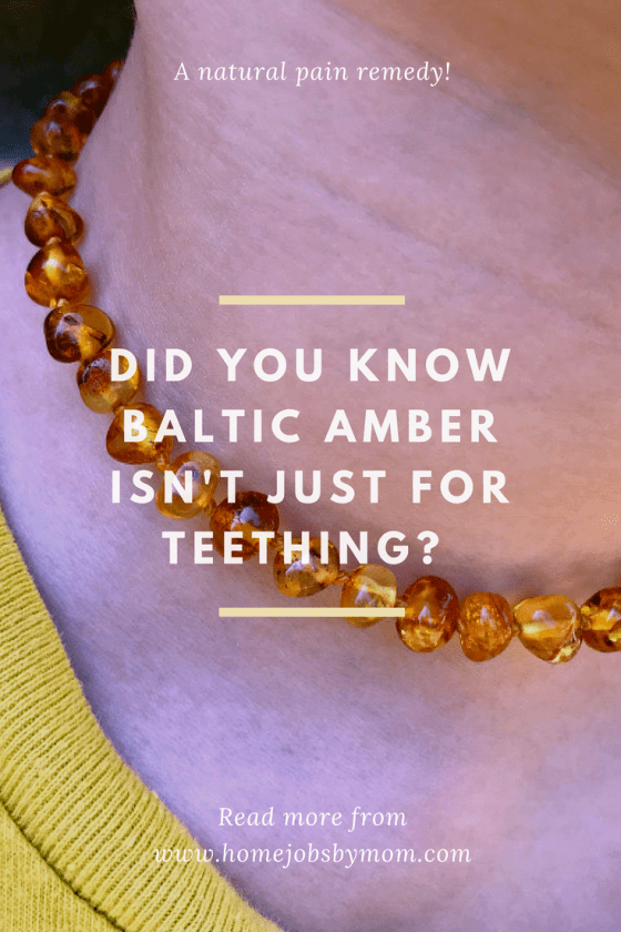 Did You Know Baltic Amber Isn't Just For Teething?