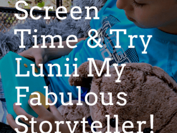 lunii, my fabulous storyteller, screen time