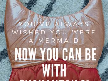 enchantails, mermaids, sleeping bag