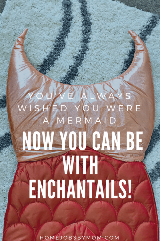 enchantails, mermaids, sleeping bag