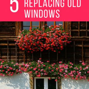 replacing old windows, window pane, updating windows