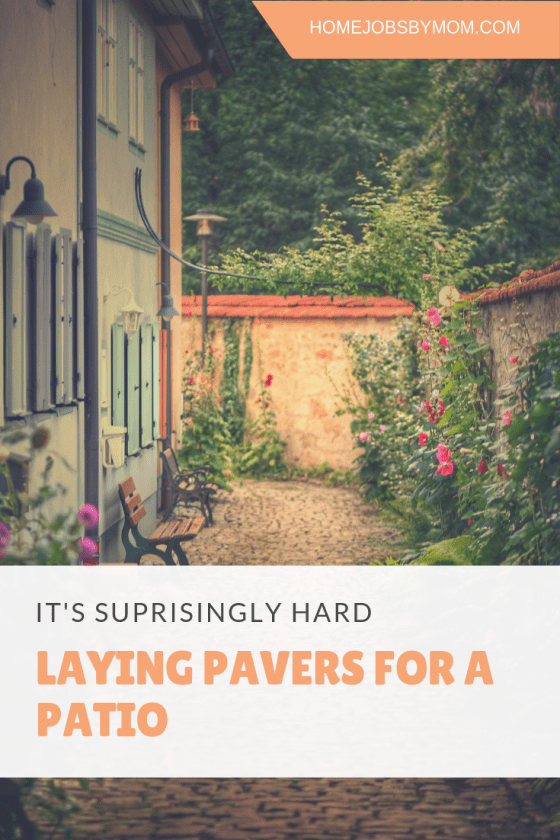 Laying Pavers For a Patio
