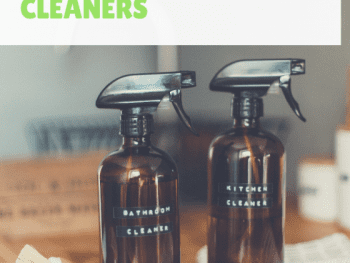 homemade cleaners, diy cleaners