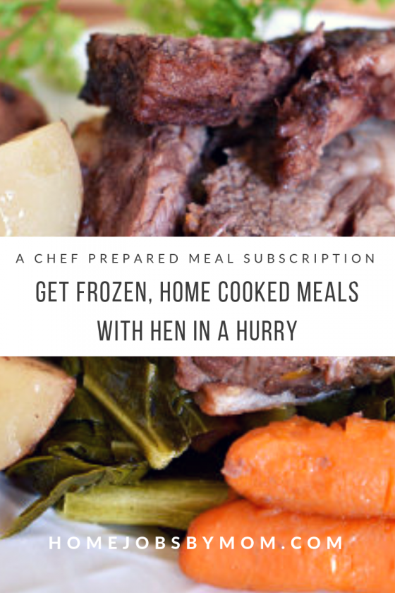 Get Frozen, Home Cooked Meals with Hen in a Hurry (a Chef Prepared Meal Subscription)