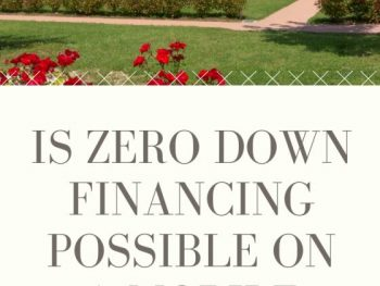 Is Zero Down Financing Possible on a Mobile Home Park_