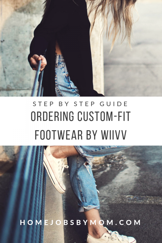 Ordering Custom Custom-Fit Footwear by Wiivv