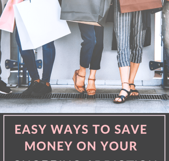 SHOPPING ADDICTION, ways to save money, saving money on clothes