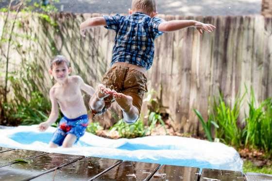 diy landscaping, making the backyard fun