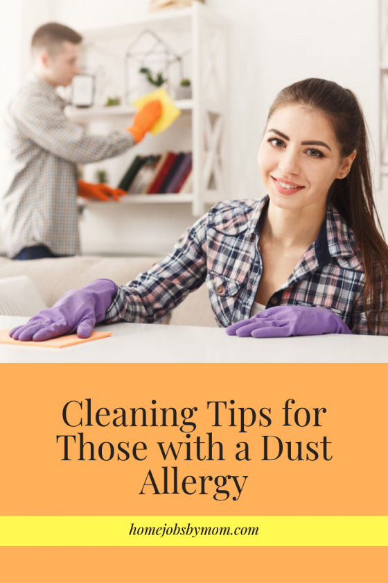 Cleaning Tips for Those with a Dust Allergy