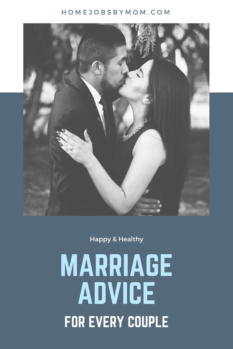 Happy & Healthy marriage advice