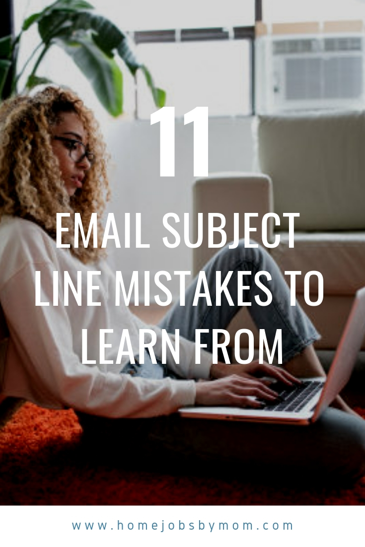 Email Subject Line Mistakes to Learn From