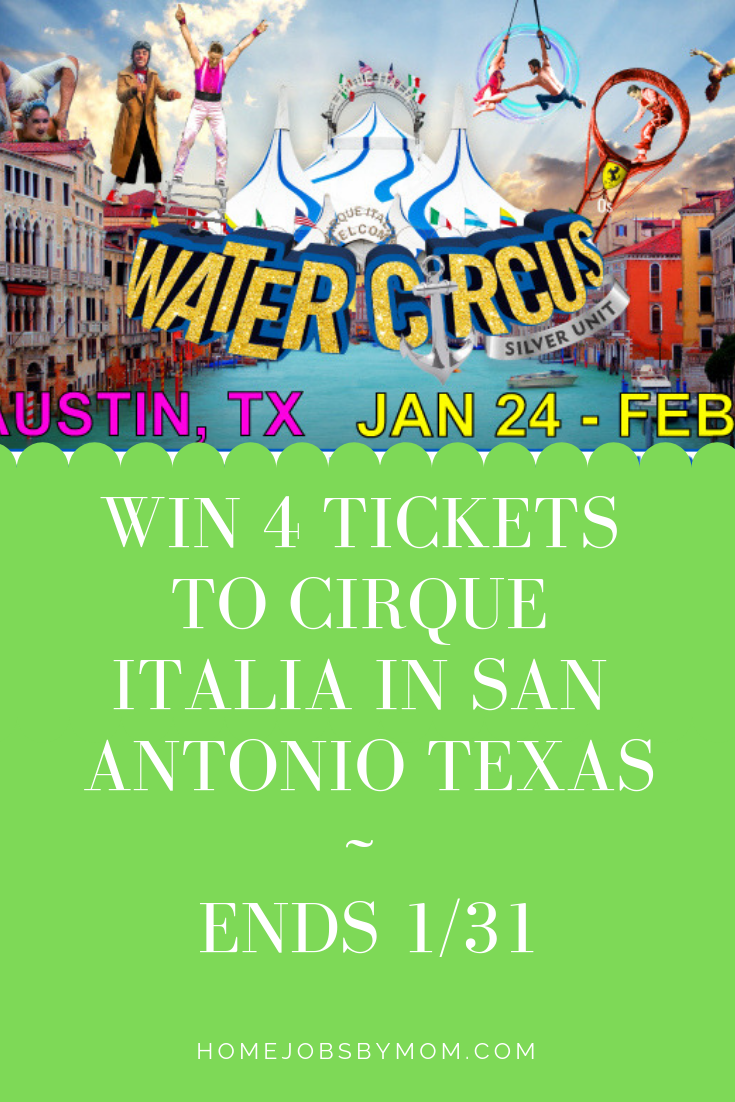 Win 4 Tickets to Cirque Italia in San Antonio Texas