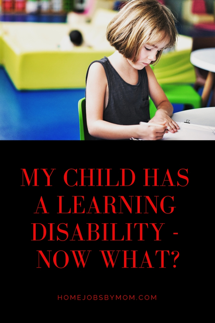 My Child has a Learning Disability - Now What