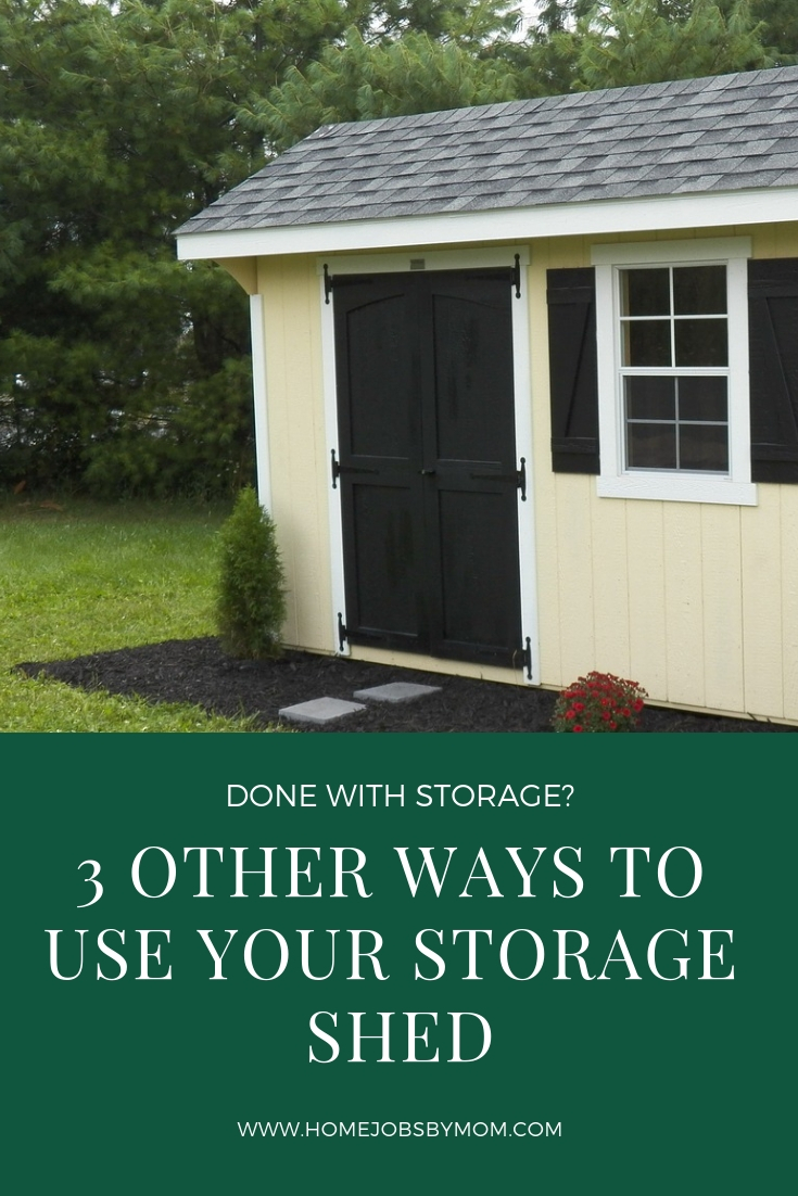 Done with Storage? 3 Other Ways to Use Your Storage Shed kit