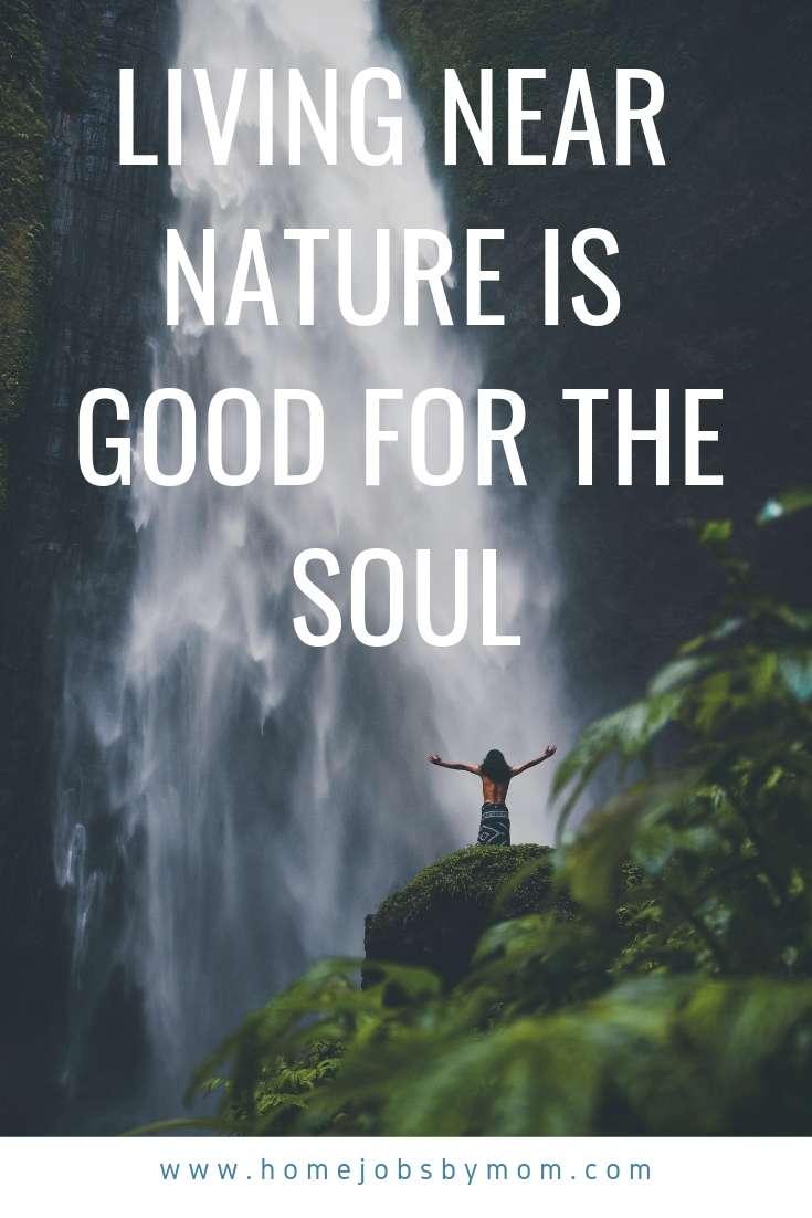 living near nature