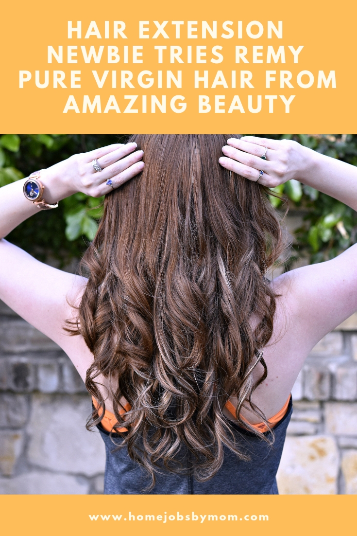 Hair Extension Newbie Tries Remy Pure Virgin Hair from Amazing Beauty