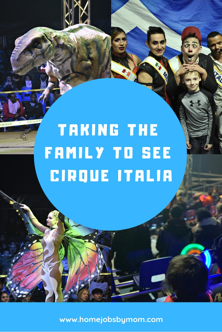 Taking the Family to See Cirque Italia