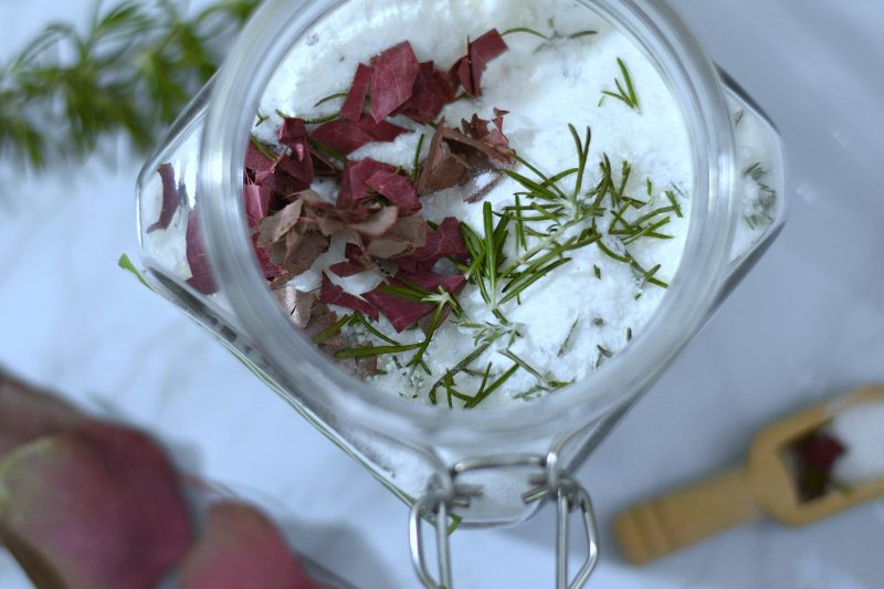 Rosemary and Eucalyptus Foot Soak Recipe
