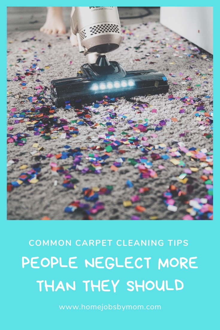 Common Carpet Cleaning Tips