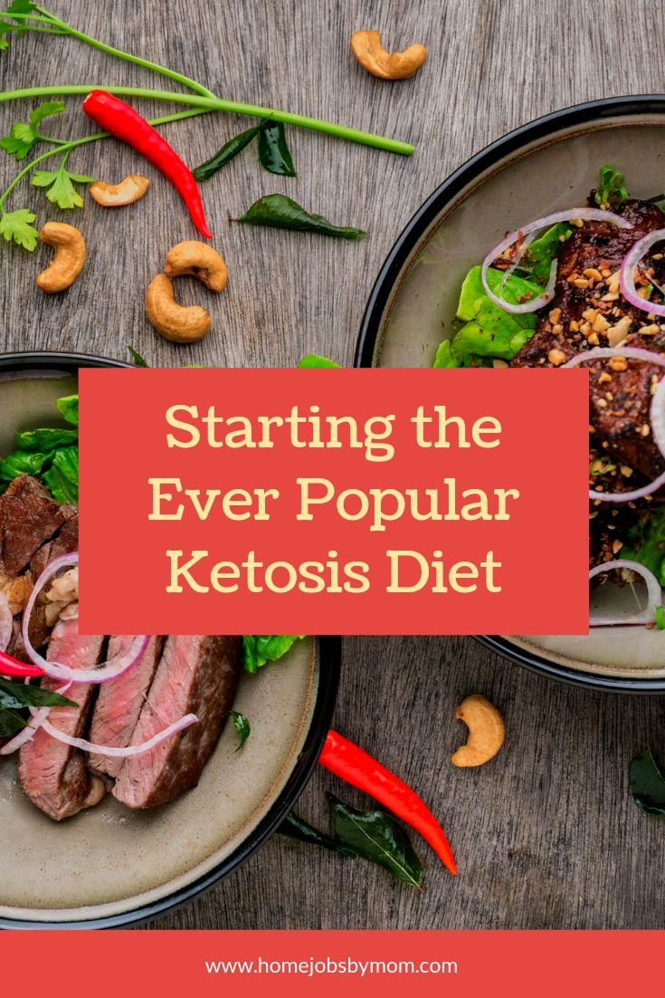 Starting the Ever Popular Ketosis Diet