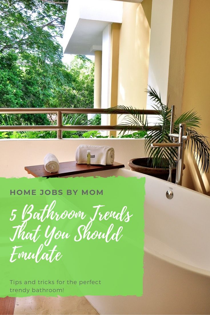 5 Bathroom Trends That You Should Emulate