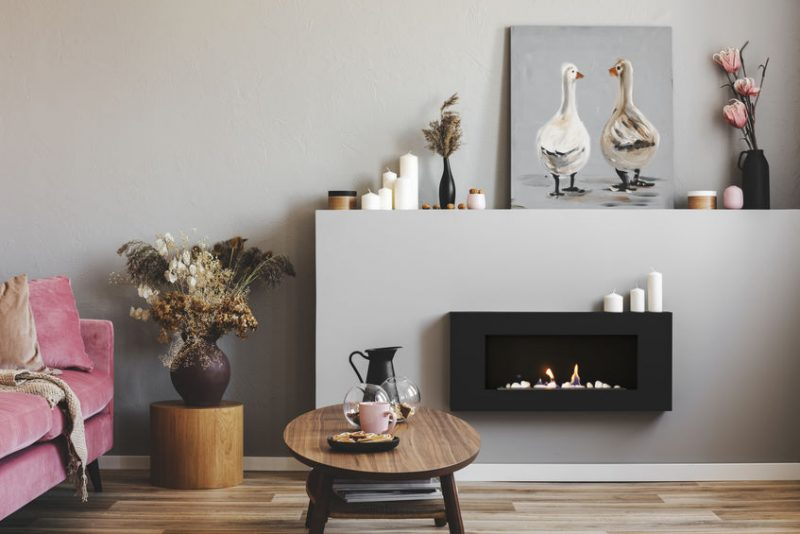 Exploring the Many Benefits of a Wall-Mounted Electric Fireplace