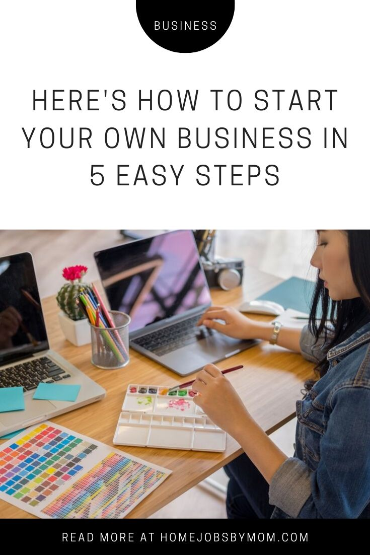 Here's How To Start Your Own Business in 5 Easy Steps