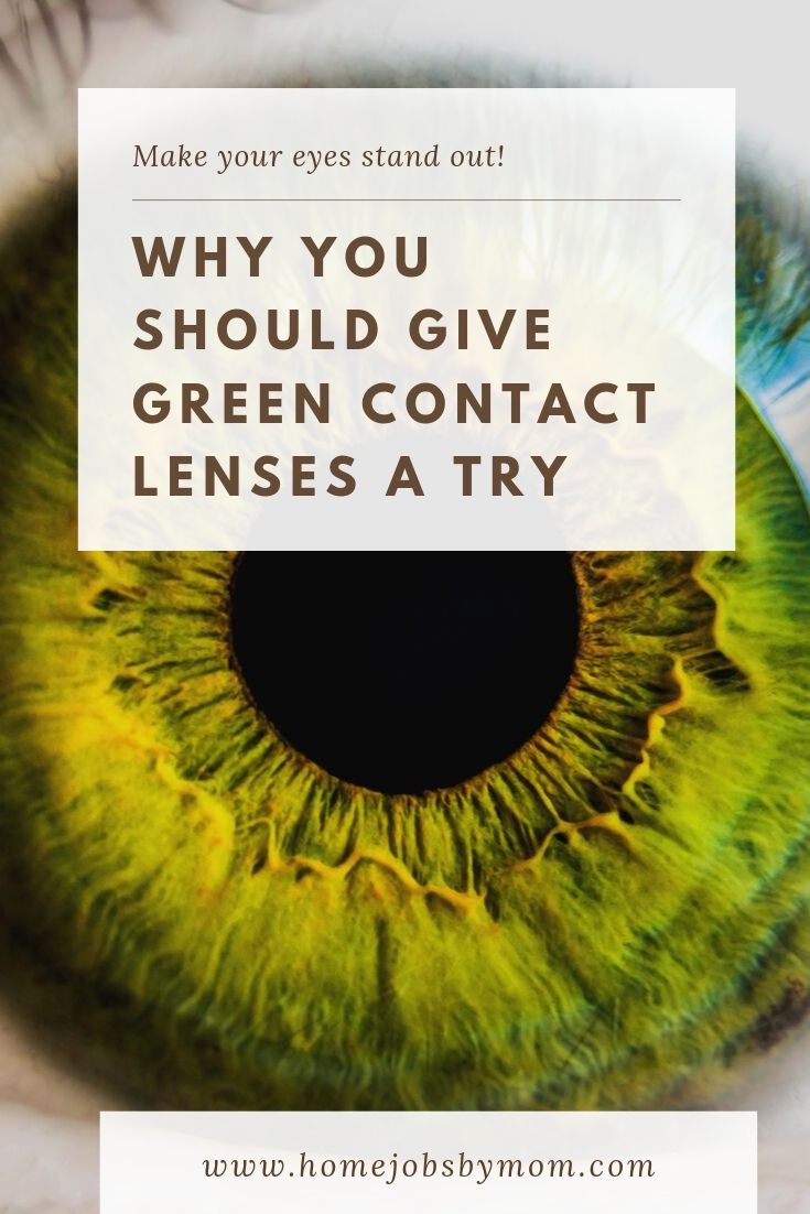 Why You Should Give Green Contact Lenses a Try