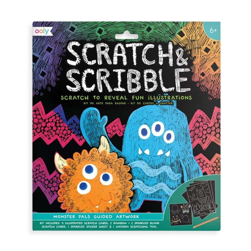 ooly scratch art kit