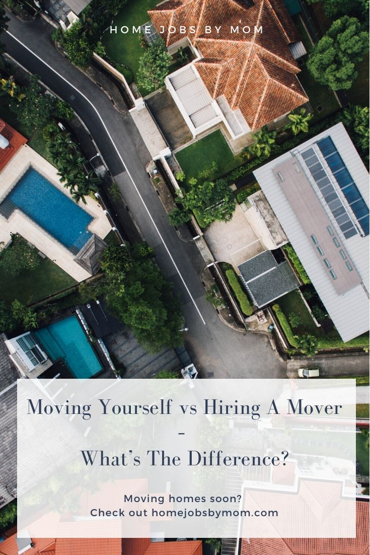Moving Yourself vs Hiring A Mover – What's The Difference_