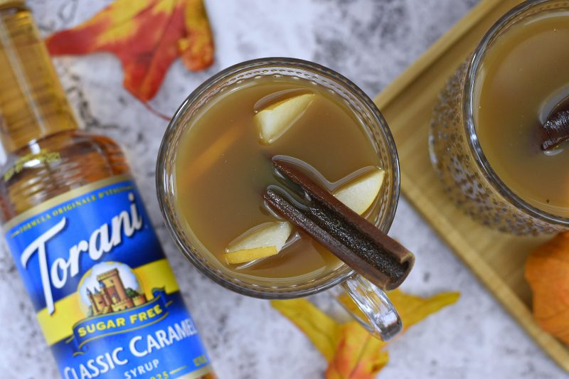 Caramelly Pear Hot Tea