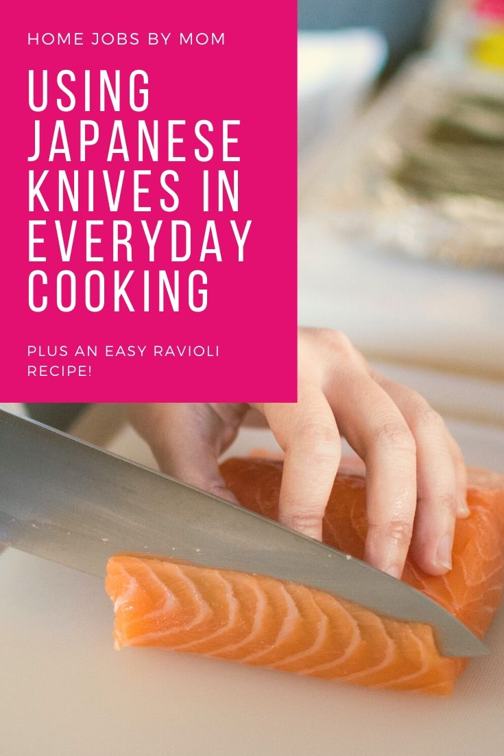 Using Japanese Knives in Everyday Cooking