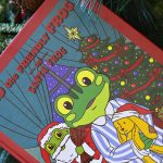 Ted the Friendly Frog and Santa Frog