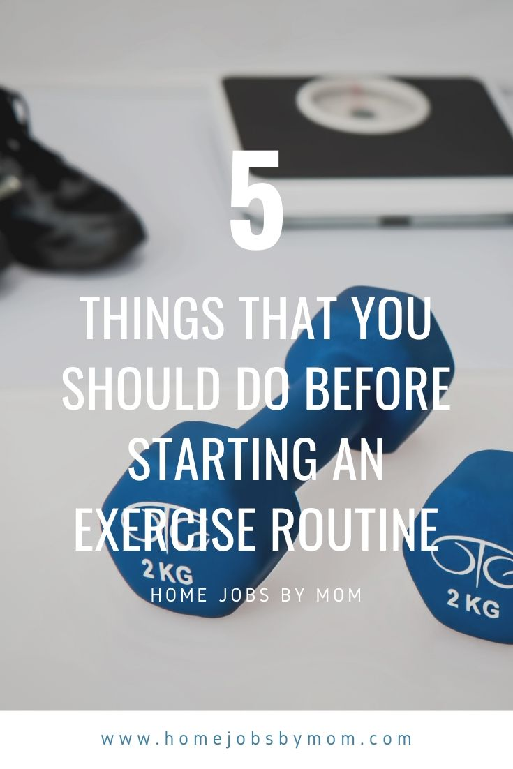 5 Things That You Should Do Before Starting an Exercise Routine