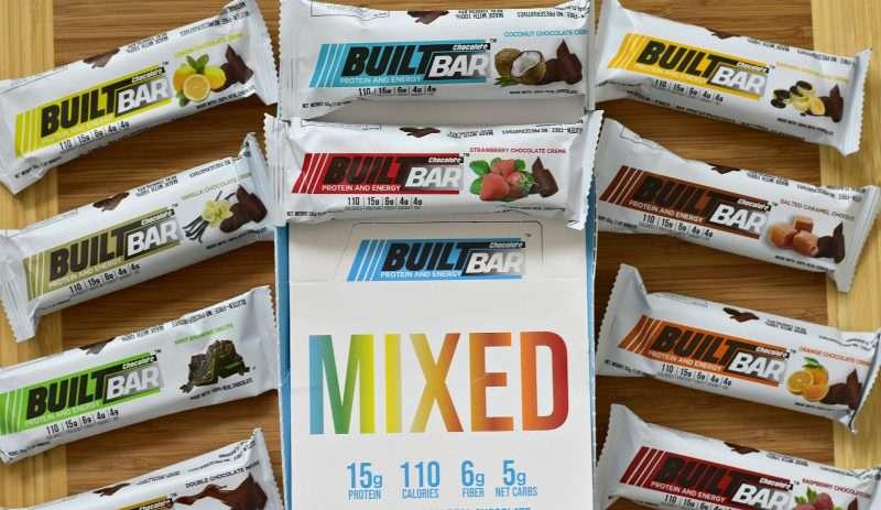 built bar mixed